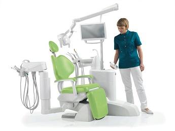 Ghế nha khoa huyện Nhà bè - Hệ thống ghế nha khoa theo tiêu chuẩn chất lượng châu Âu Anthos L9